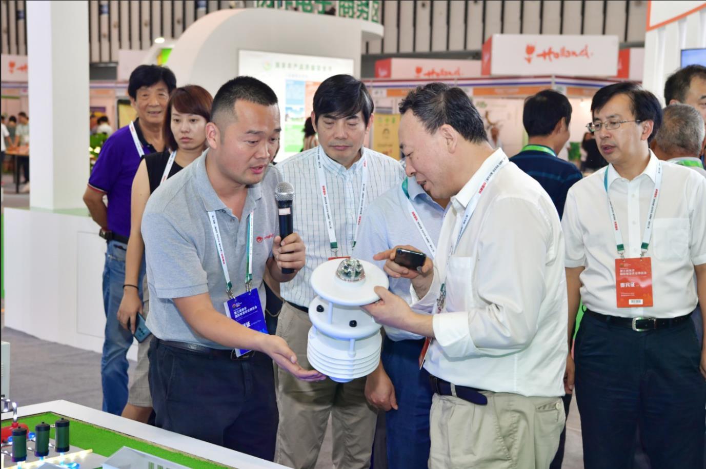 国家农业信息化工程技术研究中心主任—赵春江院士关注科沃产品并沟通